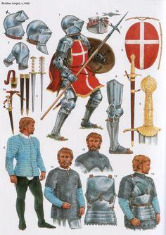 Brother knight, circa 1430