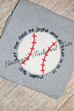 Baseball mom shirt with front and back by LindseysTailoredTots, $42.00