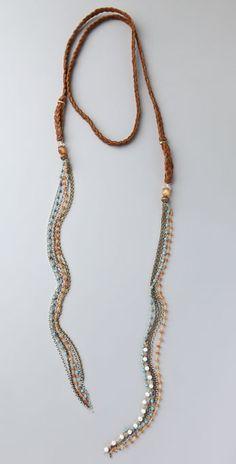 Cynthia Dugan Jewelry Scarf Necklace