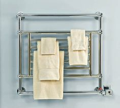 How to install a hardwired towel warmer in your #bathroom: #BeInTheKnow #HowTo #HomeImprovement