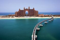 Atlantis The Palm - coolest resort I've ever been to.