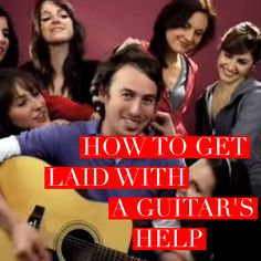 How To Get Laid With A Guitar – Funny Video #guitar #funny #youtube #getlaid #guitarhippies #music #video GuitarHippies - Your Musical Journeys Top Inspiration Point.