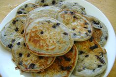 Fluffy Eggless Pancakes - These are the best pancakes I've ever made. I substituted whole wheat flour for the AP flour. Eggless Pancake Recipe, Eggless Recipes, Eggless Baking, Waffle Recipes, Brunch Recipes, Cooking Recipes, Pancake Recipes, Yummy Recipes, Coctails Recipes