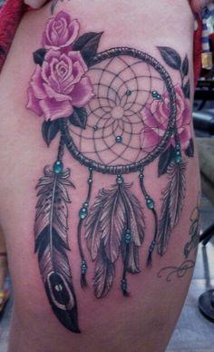 Veja 52 tatuagens de Apanhadores de Sonhos e o significado.   Tinta na Pele