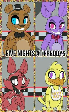 Five nights at freddys picollage i made