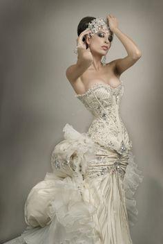 Dream Wedding Dresses A Line .Dream Wedding Dresses A Line Best Wedding Dresses, Bridal Dresses, Wedding Gowns, Modest Wedding, Steampunk Wedding Dress, Steampunk Dress, Steampunk Couture, Victorian Steampunk, Steampunk Clothing