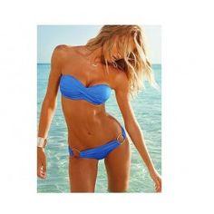 Victoria Secret Blue Sexy Bikini Set High-end swimwear fabric.Soft hand feel, comfortable to wear. Excellent quality.(Hardwearing.High elastic fibers)