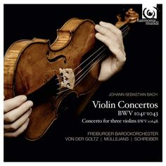 Bach – Concerto for Three Violins BWV 1064R in D Major – Freiburger Barockorchester (Photo Album)