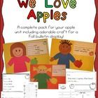 This+is+a+complete+apple+unit+for+your+classroom!++This+pack+includes+an+adorable+craft+for+your+kiddos+and+they+are+sure+to+love+making+it! Also+i...