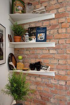 półki narożne w kuchni inspiracje - Lovingit.pl
