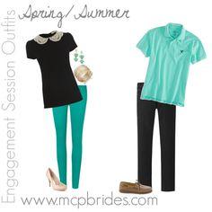 Spring/Summer Engagement Session Outfit Ideas Aqua mcpbrides.com Elizabethtown, KY