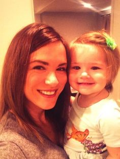 Danneel and Justice Ackles. I can't tell who she looks more like!