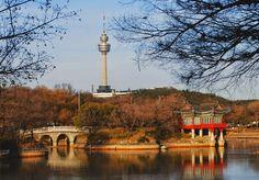 Duryu Park, Daegu, Korea
