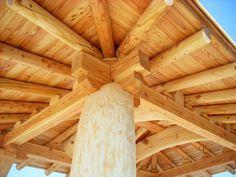 Daum 블로그 - 이미지 원본보기 Gazebo Pergola, Hip Roof, Pavilion, House Plans, Construction, Shelters, Building, Wood, Korean
