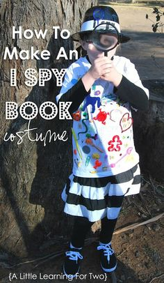 I Spy Book Costume - Pinned by @PediaStaff – Please Visit  ht.ly/63sNt for all our pediatric therapy pins