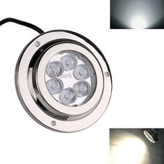 Led Underwater Lights Sweet-Tempered 1x Blue Led Drain Plug Light 9w Underwater Boat Marine Yacht Transom Fishing Diving Sale Price