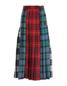 GUCCI マルチチェック ウールスカート