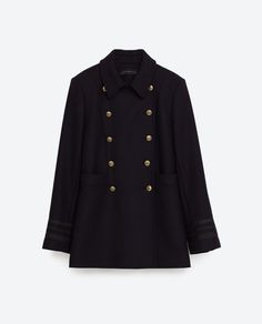 Image 11 of SHORT COAT from Zara
