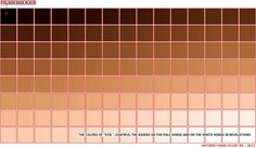 Wonderful reference for skin tones Colors For Skin Tone, Coding, Chart, Color Codes, Illustrator, Palette, Drawing, Google, Backgrounds