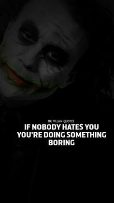 23 Joker quotes that will make you love him Dark Quotes, Real Quotes, Wise Quotes, Attitude Quotes, Inspirational Quotes, Hatred Quotes, Joker Qoutes, Best Joker Quotes, Badass Quotes