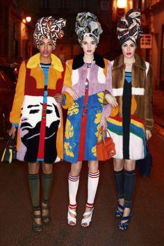 Harper's Bazaar UK Março 2014   Naomi Campbell, Karolina Kurkova + mais por Karl Lagerfeld  [Editorial]