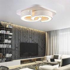 60W LED Deckenleuchte Deckenlampe Wohnzimmerlampe Küche Dimmbar Sternenhimmel
