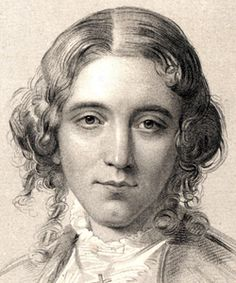 Harriet Beecher Stowe, as a young woman, engraving, 1858, detail - entry in House Divided, the Civil War Research Engine at Dickinson College