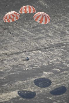 Orion Parachutes Measure Up in High Pressure Test