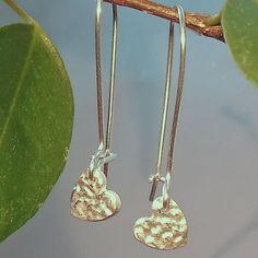 Little Heart Silver Earrings