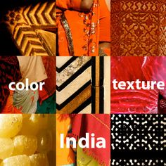 give your home decor a unique pop of color with Indian textiles