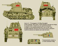 Oriental, Italian Army, Ww2 Tanks, German Army, Military Art, War Machine, North Africa, World War Two, Military Vehicles