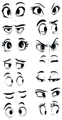 Desenhos, Mangá, Anime, Olhos, 14 Designs, Para Melhorar O Seu Desenho.