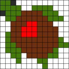 Crochet Afghans Design Turtle With Heart crochet afghan pattern graph Perler Bead Designs, Easy Perler Bead Patterns, Melty Bead Patterns, Perler Bead Templates, Kandi Patterns, Diy Perler Beads, Perler Bead Art, Bead Loom Patterns, Afghan Crochet Patterns