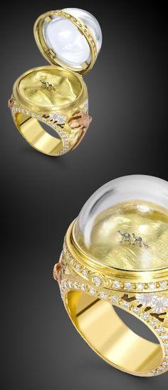 camel ring... Unique Jewellery Pieces | Unique Rings, Unique Earrings, Unique Engagement Rings