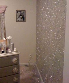 Ma la pittura con brillantini è stata inventata da poco? 15 Idee Su Pareti Glitter Pareti Glitter Arredamento Decorazioni