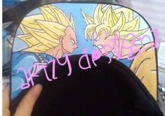 Dragon ball z goku vs vegeta SnapBack