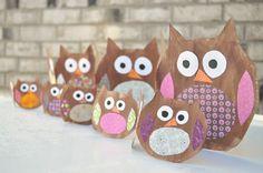 Owl Garland Pinned by www.myowlbarn.com