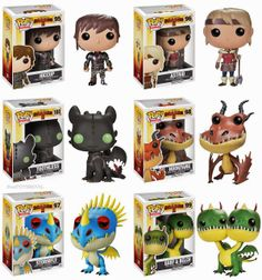"""want some popcorn to go with that movie ticket?: Pop! Movies: """"How to Train Your Dragon 2"""" from Funko"""
