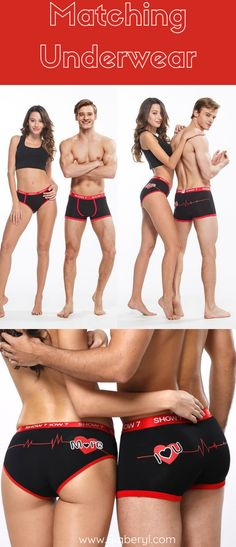f3311b444d Matching Couple Outfits and Undies! This valentine spice things up with  these matching underwear for
