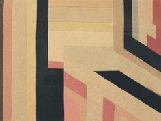 Cuscino in panno lenci, Bice Lazzari, 1928, courtesy Archivio Bice Lazzari / Bice Lazzari / Dall'Autarchia all'Autonomia.