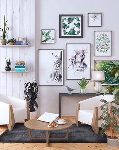Coolness of the room, ibadurrokhman S.Ds. on ArtStation at https://www.artstation.com/artwork/Dl31O