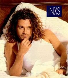 Michael Hutchence. After I moved on from my Jon Bon Jovi obsession he became my crush for a couple years..