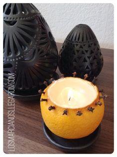 Consigue un agradable aroma en tu hogar con estas velas DIY