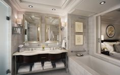 Amazing Beautiful marble bathroom - 5 Reasons to Love Marble in Your Home