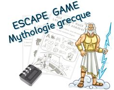 Escape game Mythologie grecque Games For Kids, Activities For Kids, Escape Room Challenge, Summer Reading Program, Theme Days, Cycle 3, Diy Games, Dramatic Play, Best Teacher