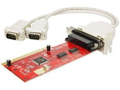 Koutech Dual Serial Low-Profile PCI by Koutech. $24.99. Specifications: - Low-profile PCI dual (2) 16C550 serial port card - Faster transfer rate of up to 1Mbytes/sec (serial) - 16-byte transmitter-receiver FIFO  - Supports digital cameras, external high-speed 56K/ISDN modems, serial interface devices, etc. - Supports Windows® 95/98/98SE/Me/NT 4.0/2000/XP/Vista/Server 2008/Windows 7/Linux  - Fully Plug-N-Play compatible - Fully compliant with PCI 2.1 and IEEE 1284...
