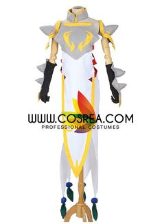 Fairy Tail Erza Scarlet Lightning Empress Cosplay Costume