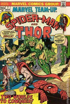 Marvel Team-Up #7 gil kane