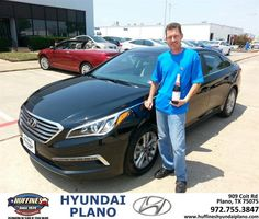 Congratulations to Charles Leslie on your #Hyundai #Sonata purchase from Frank White at Huffines Hyundai Plano! #NewCar