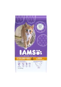 Iams Kitten and Junior Savoury Roast Chicken 2.55kg 2550g * Learn more by visiting the image link. #CatFood